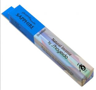 Shoyeido Japanese Incense - Magnifiscents Jewel Series - SAPPHIRE - 30 Sticks
